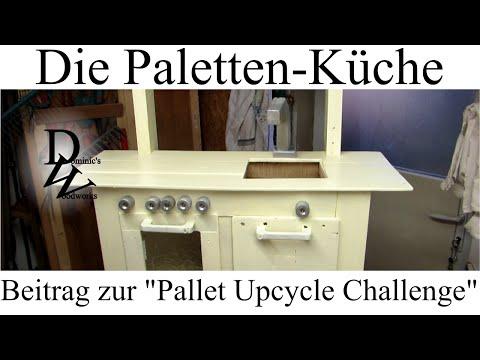 Die Paletten-Küche - Beitrag zur Pallet-Upcycle-Challenge ...