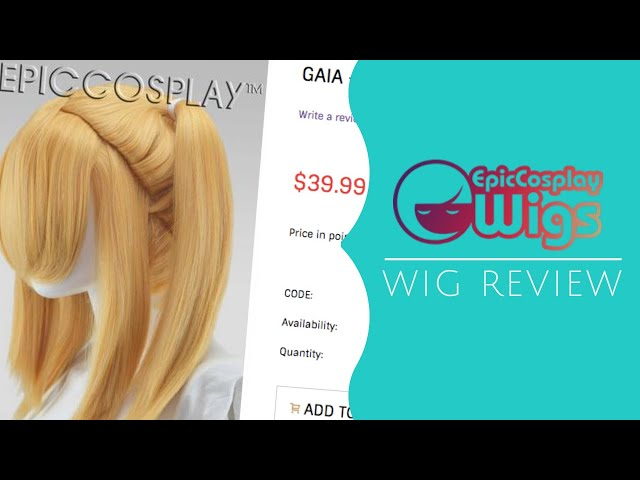 ☆[Review] Epic Cosplay Wigs - Hestia, Gaia, 50