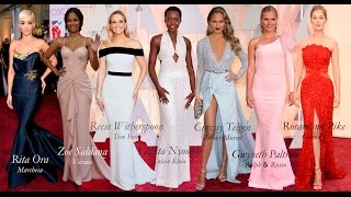 Oscar 2015 Red Carpet - Rosamund Pike, Jennifer Lopez, Dakota Johnson & more