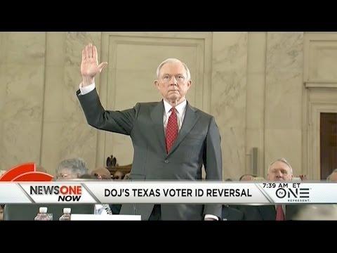 Jeff Sessions, DOJ Reverse Course In Texas Voter ID Case