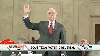 Jeff Sessions, DOJ Reverse Course In Texas Voter ID Case Free HD Video