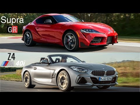 2020 Toyota Supra vs BMW Z4 2019