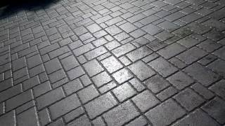 Bad / failed paver sealant. Solvent, acrylic, xylene, oil baesed based brick paver sealants