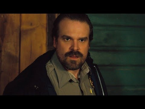 David Harbour was nominated for Best Supporting Actor at the Golden Globes