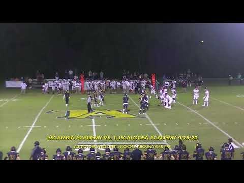 HD Version Escambia Academy vs Tuscaloosa Academy 9/25/20