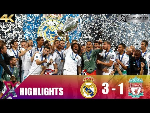 Real Madrid vs Liverpool 3-1 Extended Highlights & All Goals - UCL 17/18 Final - UHD 4K
