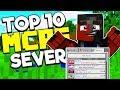 TOP 10 BEST MCPE SERVERS! - Minecraft PE (Pocket Edition, Xbox, Windows 10)