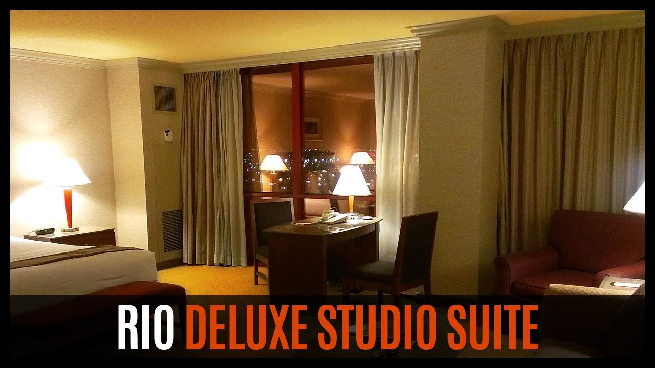 Luxor One Bedroom Luxury Suite Rio Deluxe Studio Suite Youtube