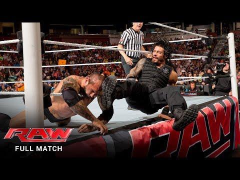 FULL MATCH - Roman Reigns vs. Batista: Raw, May 12, 2014