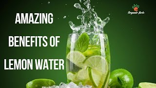 Amazing Health Benefits Of Lemon Water | Nutrition Facts About Lemon Water