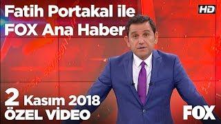 Sıla'nın iddialarını doğrulayan 3 tanık ifade verdi! 2 Kasım 2018 Fatih Portakal ile FOX Ana Haber