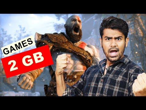 Best Pc Games Under 2GB   GOD OF WAR And My Collection
