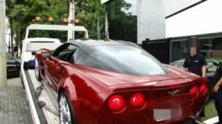 Corvette ZR1 na Av. Europa