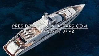 For sale brand new AMORE MIO 45m award winning  alumium yacht by Heesen Yachts
