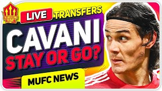 Cavani Transfer Plea! Man Utd Transfer News
