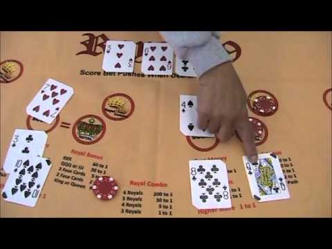 Royal 89, A 3 Card Game: Baccarat, 3 Card Poker, Casino War In One Exciting Casino Game