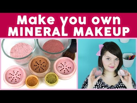 DIY Makeup: How to Make Mineral Makeup | DecorateYou