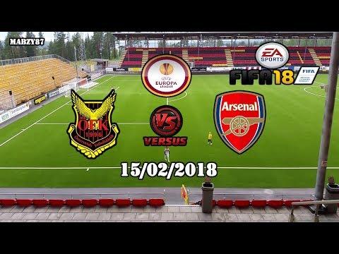 Östersunds FK v Arsenal FC 15/02/2018