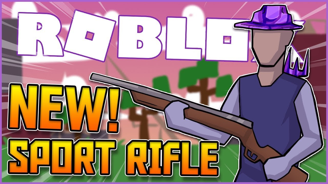 i cried trying the new hunting rifle in roblox strucid ...