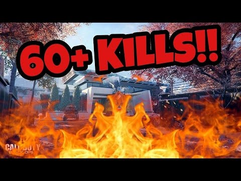 Black Ops 3: 60+ kills on stronghold (gameplay)