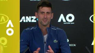 Novak Djokovic press conference (1R) | Australian 2018
