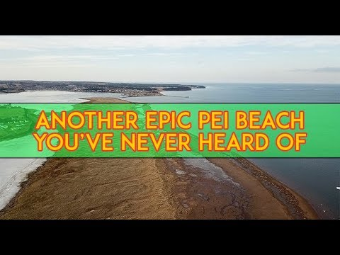One of the top PEI Beaches: Anglo Rustico. Fun With John vlog!