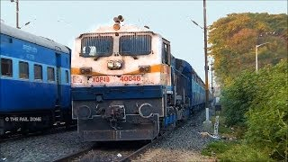 WDP4B KARNATAKA EXPRESS - Spare Rake : INDIAN RAILWAYS