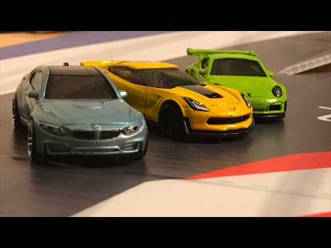 Hot Wheels Exotic Car Drifting - EPIC DRIFT ACTION