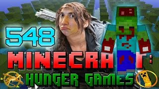 Minecraft: Hunger Games w/Mitch! Game 548 - ARMY OF THE UNDEAD! ZOMBIE WAR!