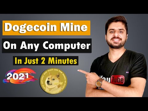 How To Mine Dogecoin On Any Computer Or Mobile | Simple And Easy Method