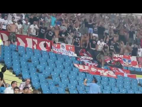 RED STAR BELGRADE HOOLIGANS IN UKRAINE, ODESSA CITY FULL VIDEO