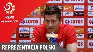 Konferencja reprezentacji Polski przed meczem z Niemcami (01.09.2015)