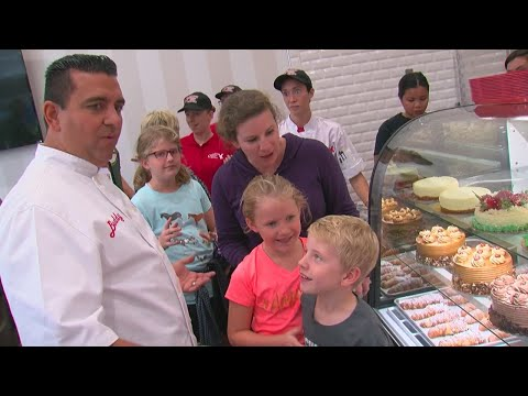Cake Boss Opens Up Shop In MOA