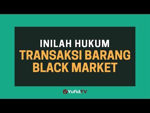 Black Market: Hukum Transaksi Barang Black Market - Poster Dakwah Yufid TV