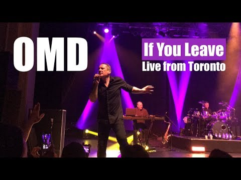 OMD If You Leave - Live - Toronto 2018