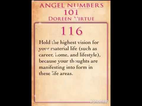 Weekly Angel Number 116 by Doreen Virtue - YouTube