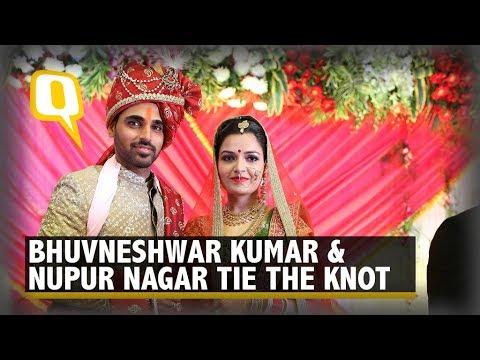 Bhuvneshwar Kumar & Nupur Nagar Tie the Knot in Meerut |The Quint