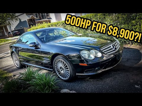 I Just Bought A $130,000 Mercedes-Benz SL55 AMG For $8,900