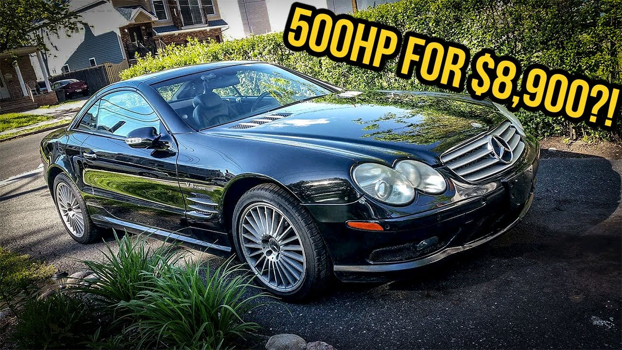 Mercedes Benz mercedes benz sl55 : I Just Bought A $130,000 Mercedes-Benz SL55 AMG For $8,900 - YouTube