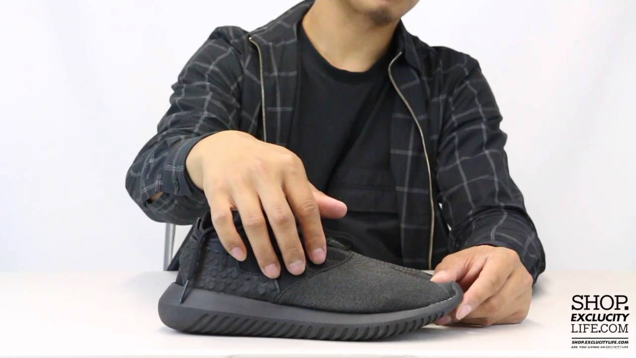 huge discount adf58 4a77e Adidas Tubular Entrap W Black Black Unboxing Video at Exclucity