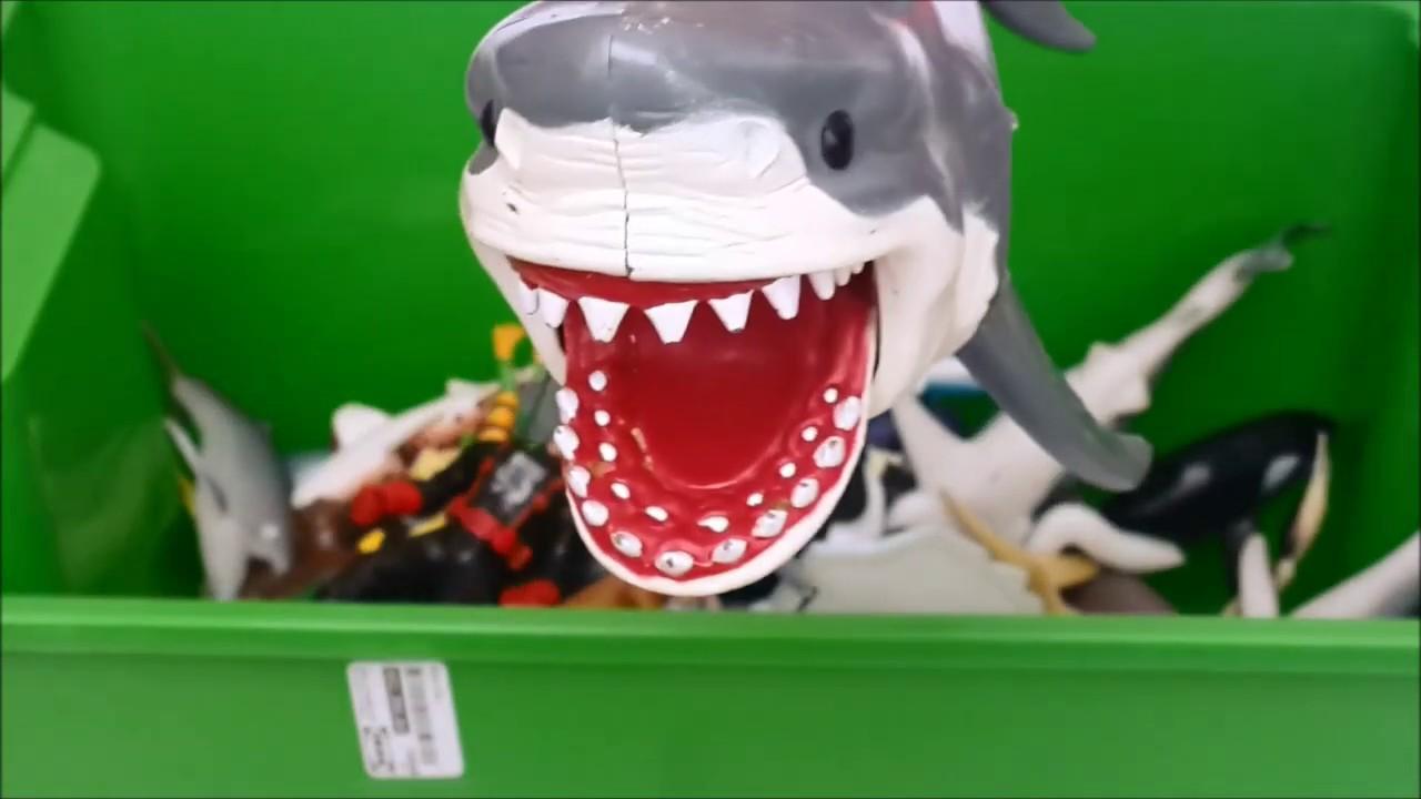 SHARK TOY BOX