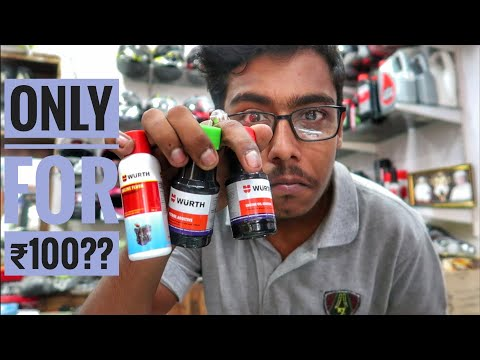 ₹100 can increase your Motorcycle's  performance || Wurth