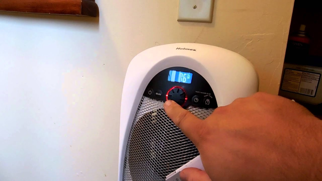 Safe Bathroom Heaters Holmes Hfh 436 Bathroom Heater Youtube