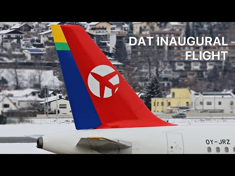 ▶ *INAUGURAL Flight!* BLL to INN (operated by Danish Air Transport)
