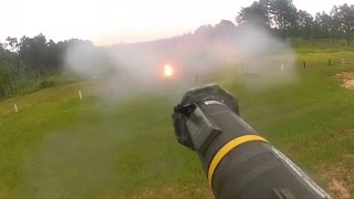 AT-4 Live Fire Exercise at Camp Shelby Joint Forces Training Center!