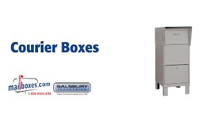 Mailboxes.com Courier Boxes