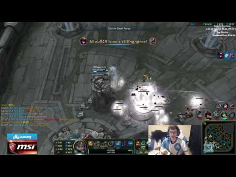 Meteos' Mom watches Meteos play League of Legends