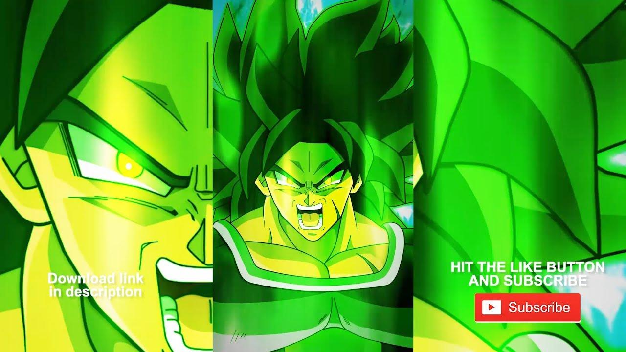 Dragon Ball Super Broly Animated Wallpaper