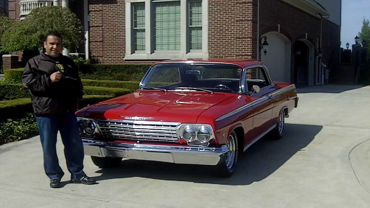 1962 chevy impala ss classic muscle car for sale in mi for Classic motors for sale