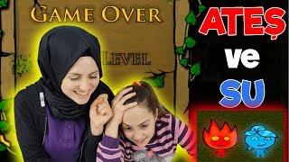 Ateş ve Su Oyunu #2   İSTEK VİDEO   Eğlenceli Bir Oyun Oynuyoruz , EN SONUNDA BAŞARDIK !
